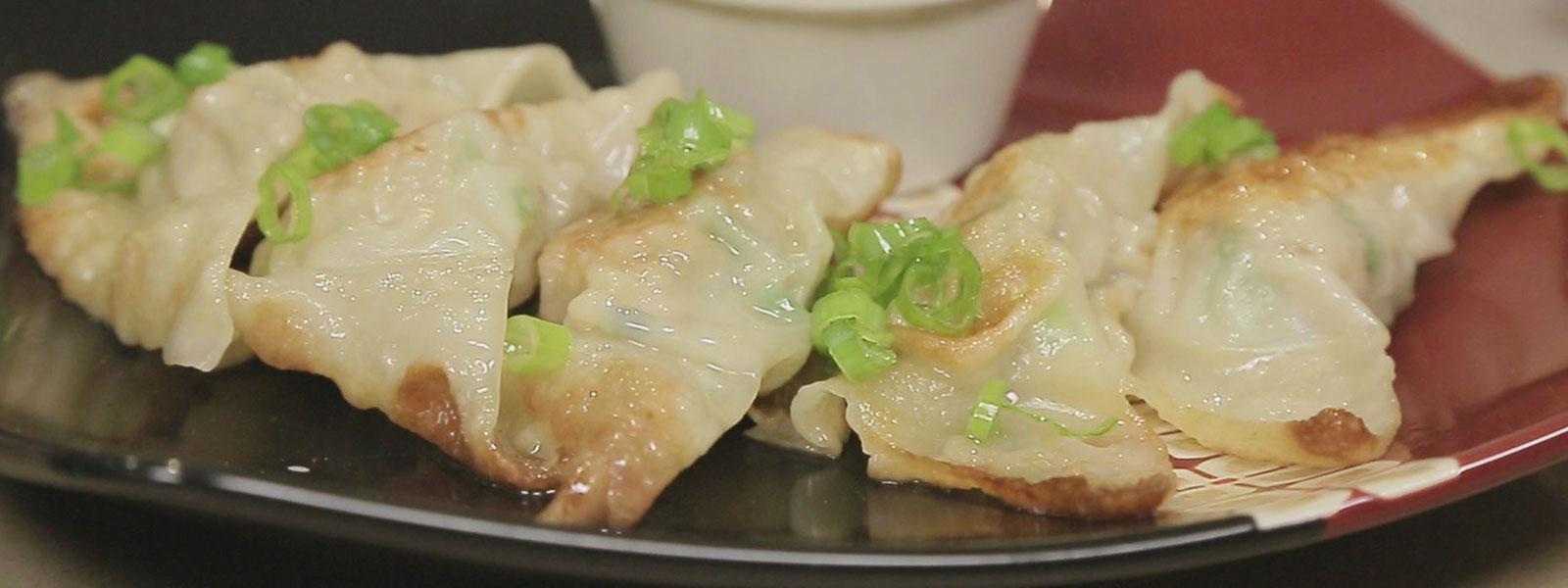 Pork & Ginger Dumplings